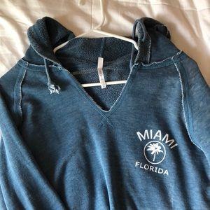 U.S. Apparel Tops - Miami, FL thin blue hoody